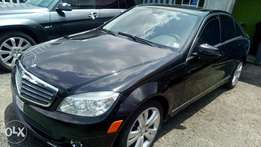 2011 Lagos cleared Benz C300 with factory chilling AC and full duty
