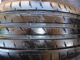 1xContinental ContiSportContact 225/40/18,Close to 90 percent tread!!