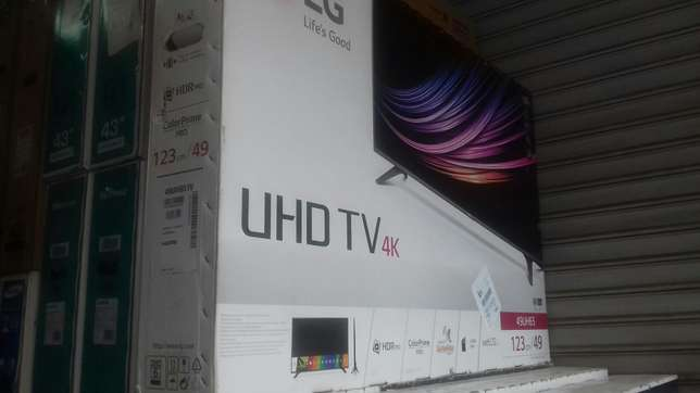 "Lg 49""smart 4k tv Nairobi CBD - image 1"