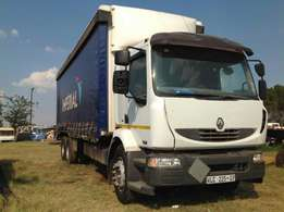 Renault 270dci midlum curtain body fully refurbished