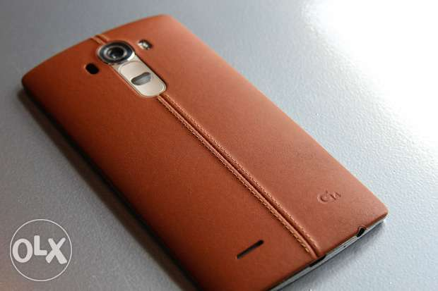 LG G4 Leather Back Cover - Brown Kasarani - image 1
