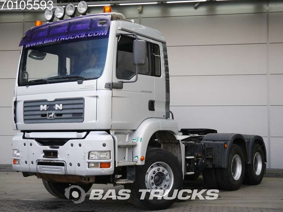 TGA 33.430 M 6X4 Manual Steelsuspension Big-Axle - 2005