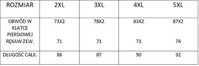 Kurtka męska zimowa duża 2XL 3XL 4XL 5Xl DUKE wysyłka GRATIS