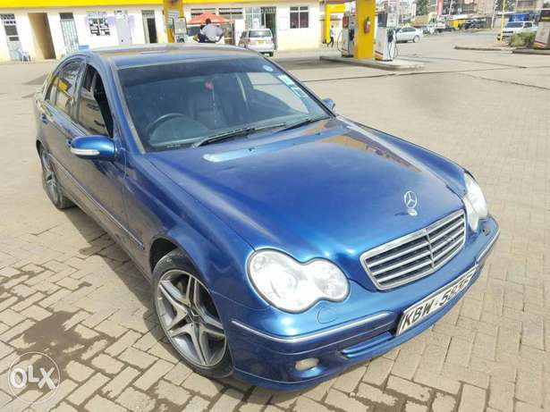 Mercedes Benz C 240 in good condition. Buy and drive Embakasi - image 1