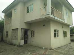 3bedroom duplex for sale off airforce road eliozu port harcourt