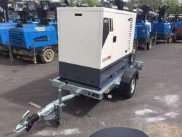 Brand 37KVA Super Silence Diesel Generator With Trailer