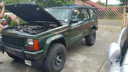 Jeep Cherokee sport body, with lexis VVTI engine!