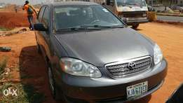 Registered Toyota Corolla 2007