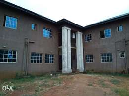 Standard 25 rooms self Contain hostel close to federal poly nekede