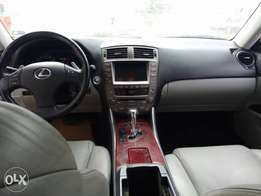 Newly arrived Lexus IS350