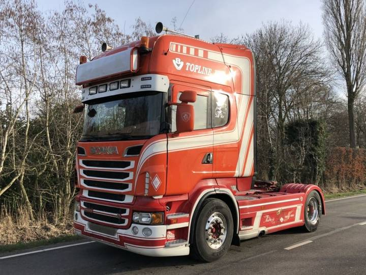 Scania R500 4x2 ADR Retarder airco king PTO compressor - 2010