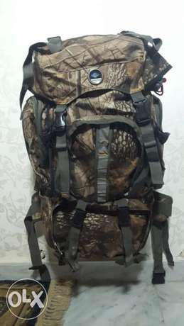 Camouflage camping backpack