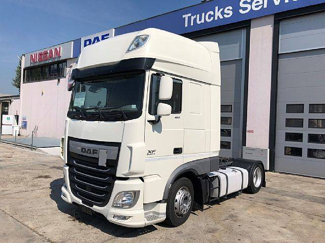 DAF XF 460 FT Super Space LOW DECK - 2014