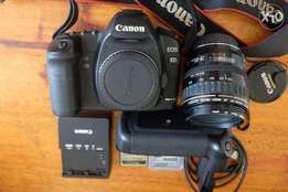 Canon 5d Mkii with 24 105 USM lens