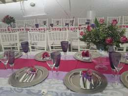 Catering and events decor