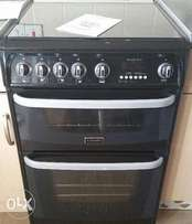 Cannon chesterfield double oven standing cooker