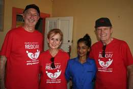 Hirsch's supporting Keller Williams Red Day at Vulamehlo Hospice