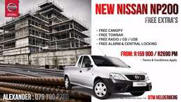 New Nissan Np200 With All The Extra's