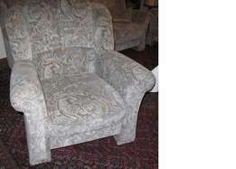 Armchair 90 cm, height 95 cm, depth 90 cm. brighter Jaquard reference