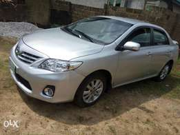 Toyota corolla 2012 model