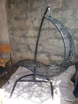 Steel Hanging Lounge Chair