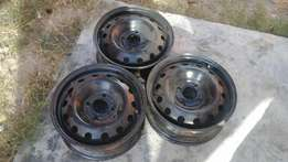 14 inch brand new steel rims for ford figo, fiesta cars, price neg.
