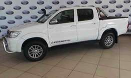 2012 Toyota Hilux 4.0 V6 Raider Raised Body Automatic Double Cab,