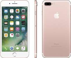 apple iphone 7 plus 128gb + free back cover
