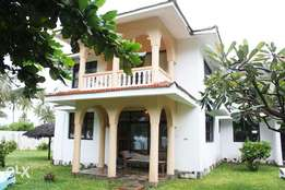 3bed furnished serviced beach villa Diani Beach South Coast
