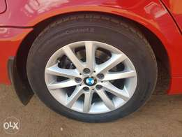 "BMW 16"" mag rims and tyres"