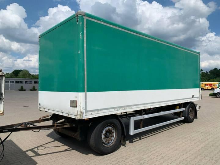 Ackermann K-AF7.5 Koffer 7,30m Mercedes Achsen - 2009
