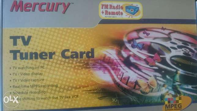 Tv tuner mercury