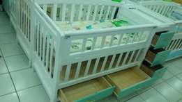 Brand new baby cot with drawers