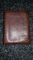 Unisex Leather Fossil Wallet / Purse