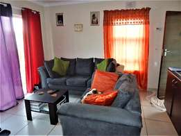 Semi-furnished, ground floor apartment in Rosenvale