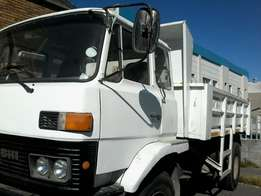 8 cubic tipper for hire
