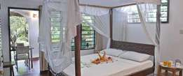 Cottages for rent in Diani beach one.