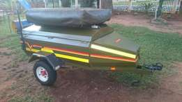 2010 Venter Trailer with Eezi Awn