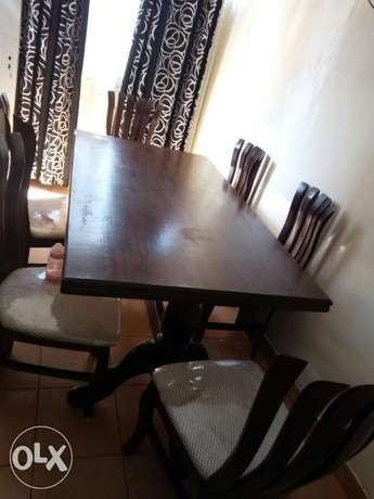 Dinning table with 6 chairs Thika - image 4