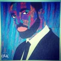 Abstract paints of.Drake