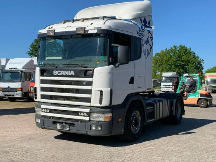 Scania R144 - 460 ..Retarder+Manual - 1997