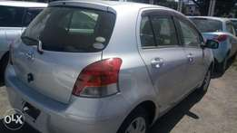 Vitz silver colour