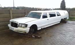 1989 Mercedes-Benz limo project