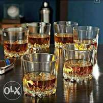 Set of 6 Pieces Whiskey Glassware