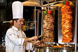 shawarma catering outside