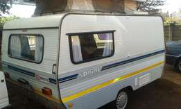 sprite sprint with full tent in excellent condition must be seen