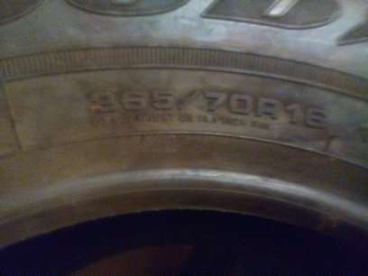 3 Good year Tires - size 265/70R 16 NEW Embakasi - image 3