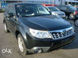 Subaru forester black colour 2011 model excellent condition