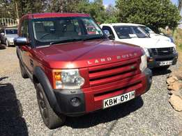 Landrover Discovery 3 diesel in immaculate condition leather interior