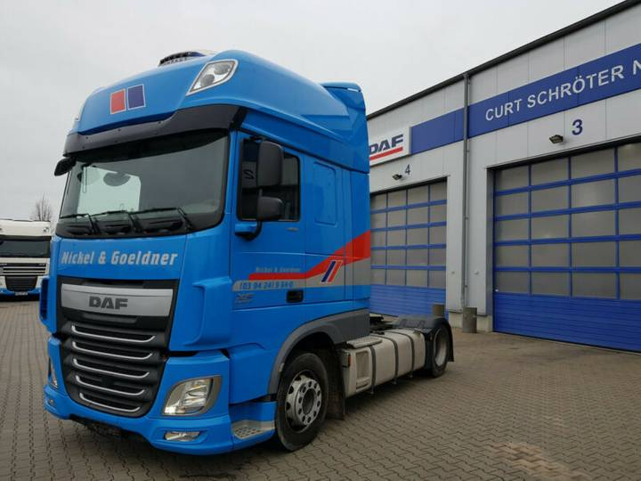 DAF FT XF 460 SSC, LD, AUT, MX-Brake, Prod. 05.2016 - 2016